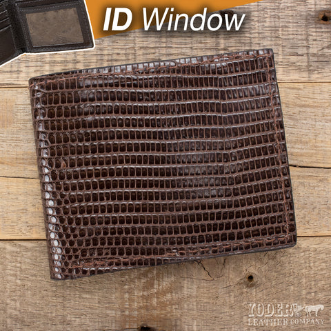 Brown Lizard ID Wallet