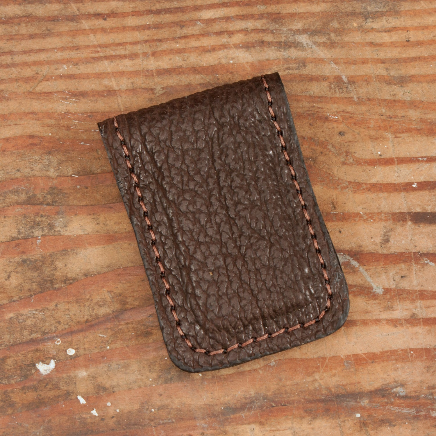 Brown Shark Cash Clip