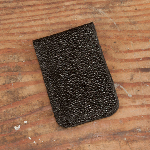 Stingray Leather Money Cash Clip