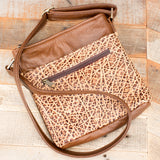 Rustic Brown Elephant Purse