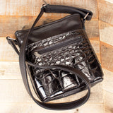 Black Alligator Purse