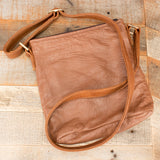 Brown Ostrich Handbag