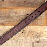 Dark Brown Ranger Leather Belt