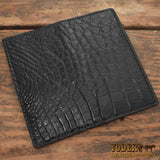 Black Alligator Rodeo Wallet