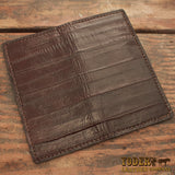 Eel Leather Roper Wallet