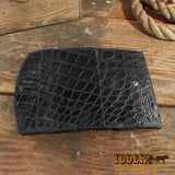 Alligator Skin Clutch Wallet