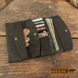 Bison Clutch Wallet