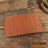 Caramel Brown Clutch Wallet