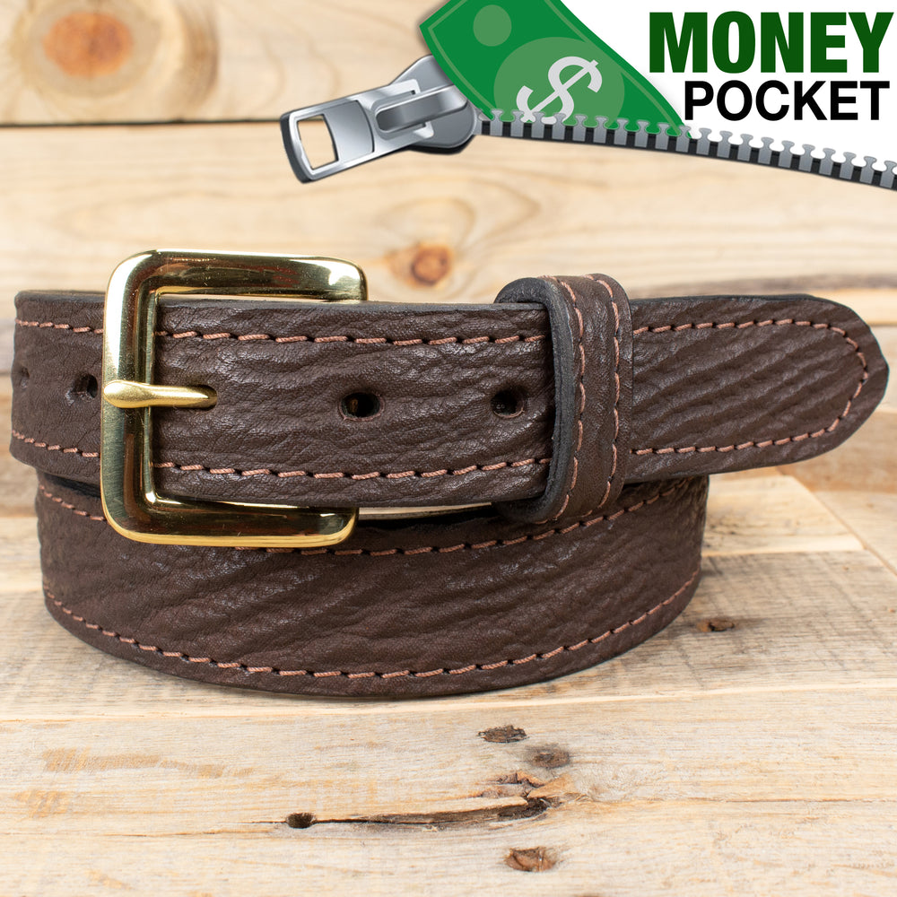 Amish made belts