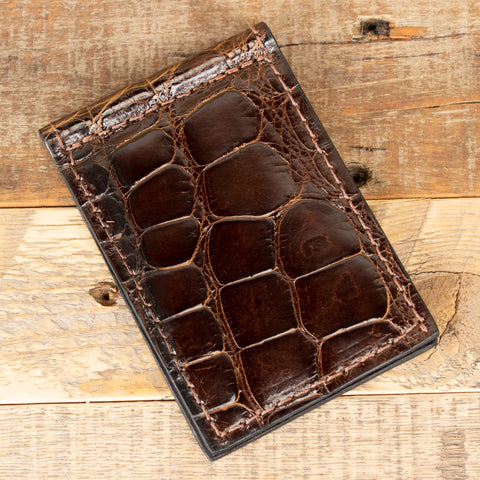 Alligator Skinny Clip Wallet