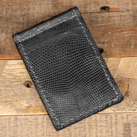 Tegu Lizard Thin Wallet