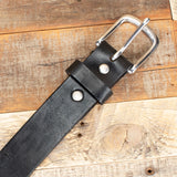 Yoder Leather Smooth Amish Belt