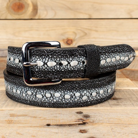 Black Stingray Belt