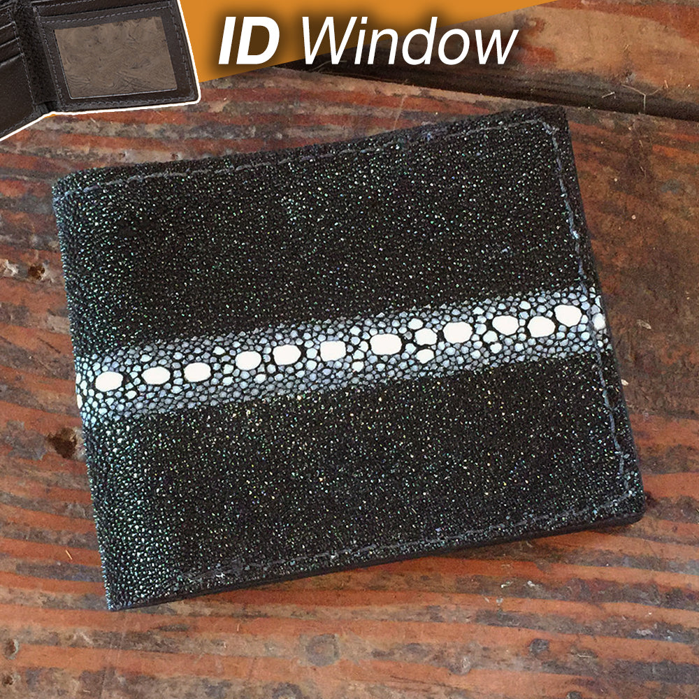 Black Stingray Rowstone ID Wallet