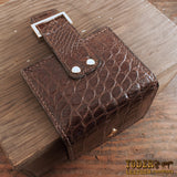Brown Alligator Women's Wallet
