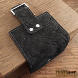Women's Black Elephant Bifold Wallet