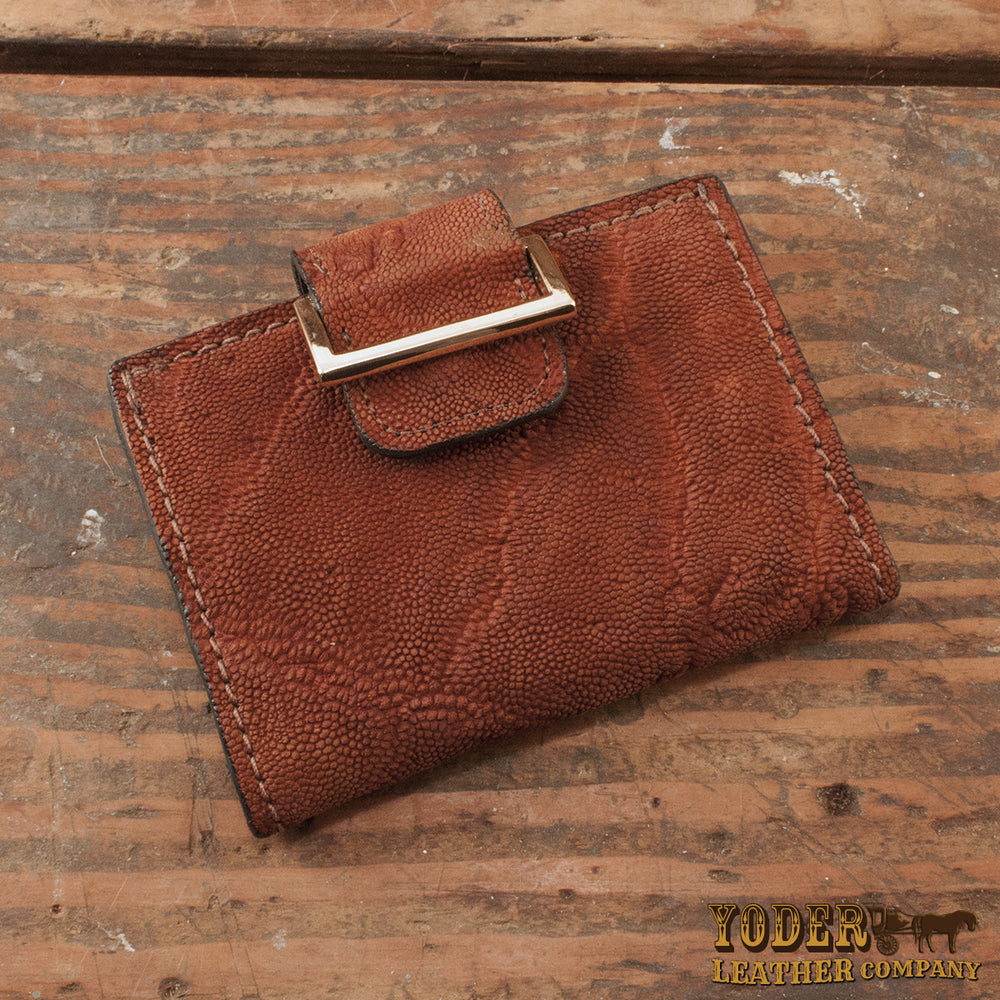 Women s Caramel Elephant Leather Wallet – Yoder Leather Company 5fe0883c0