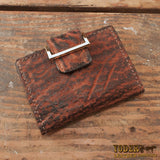 Women's Dragon Fire Elephant Leather Wallet