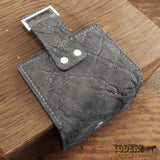 Gray Elephant Hide Women's Bifold