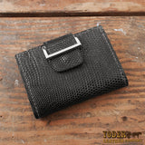 Black Lizard Skin Women's Wallet