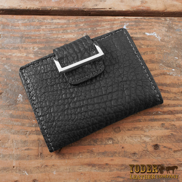 Women's Black Shark Skin Wallet