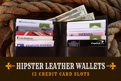 Hipster Leather Wallets