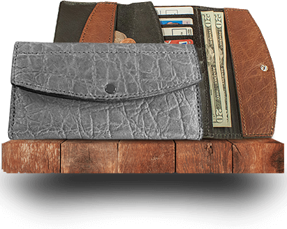 Exotic Leather Women's Clutch