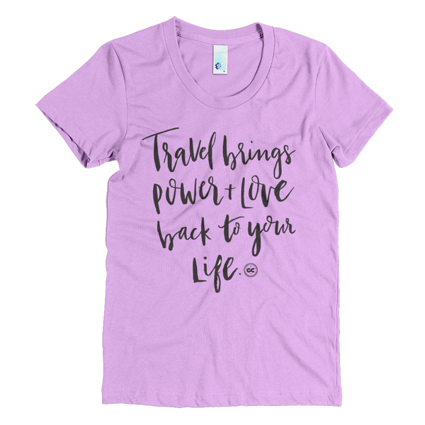 Power+Love Travel Tee