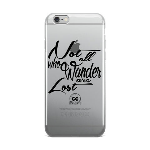 Wanderer iPhone case