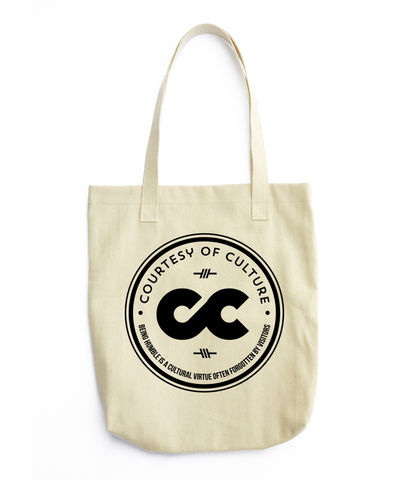 "Courtesy of Culture ""Minimalist"" Travel Tote"