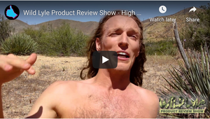 Wild Lyle Product Review Show - High Noon Zinc