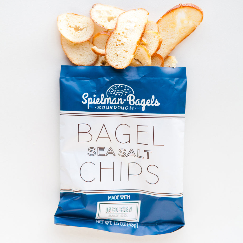 Spielman Bagels Sea Salt Bagel Chips Small Bag
