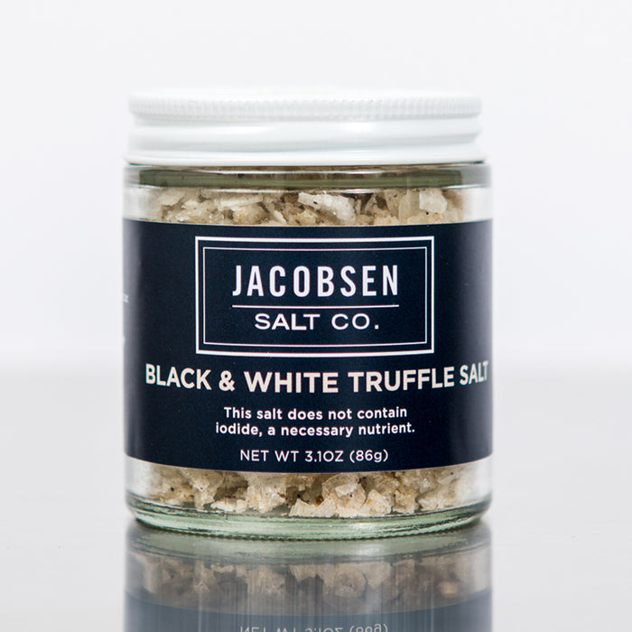 Infused Black & White Truffle Salt