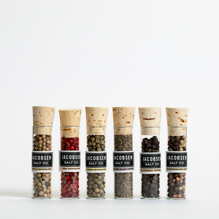 Six Vial Assorted Peppercorn Set