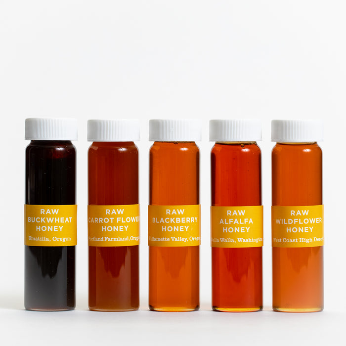Jacobsen Co. 5 Vial Honey Collection