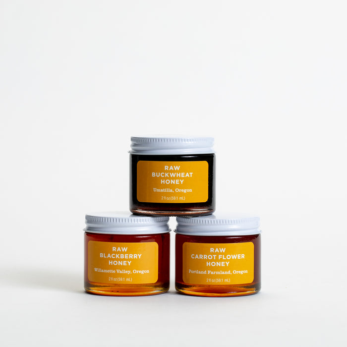 Raw Honey Sampler Set
