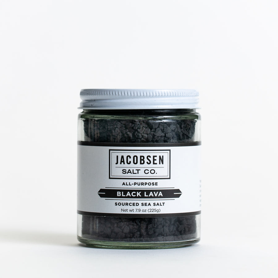 Sourced Black Lava Sea Salt