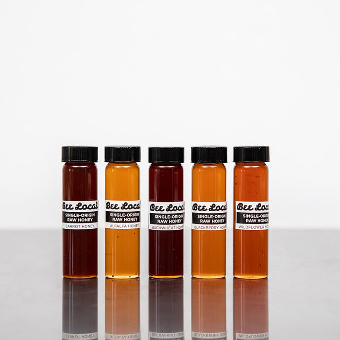 Bee Local Five Vial Honey Set