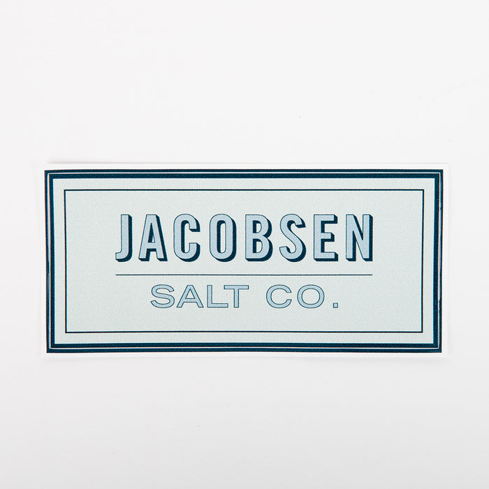 Jacobsen Salt Co. Sticker