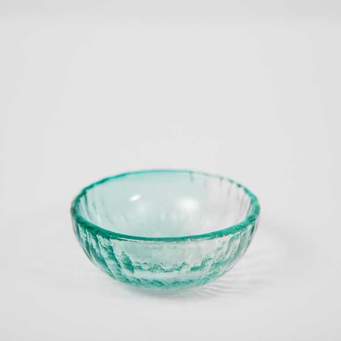 Vitreluxe Glass Salt Cellar – Sea