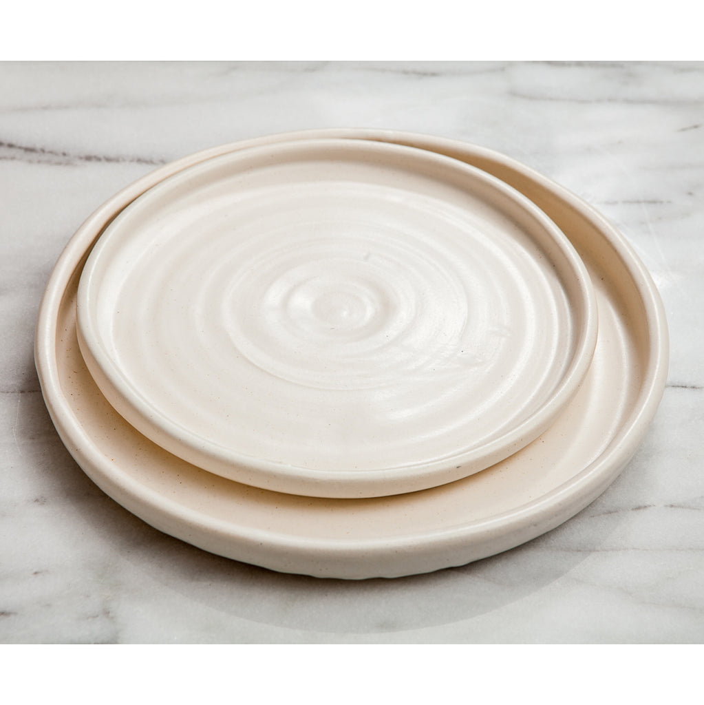 Judy Jackson Ceramic Plate u2013 Dinner  sc 1 st  Jacobsen Salt : plates for dinner - Pezcame.Com