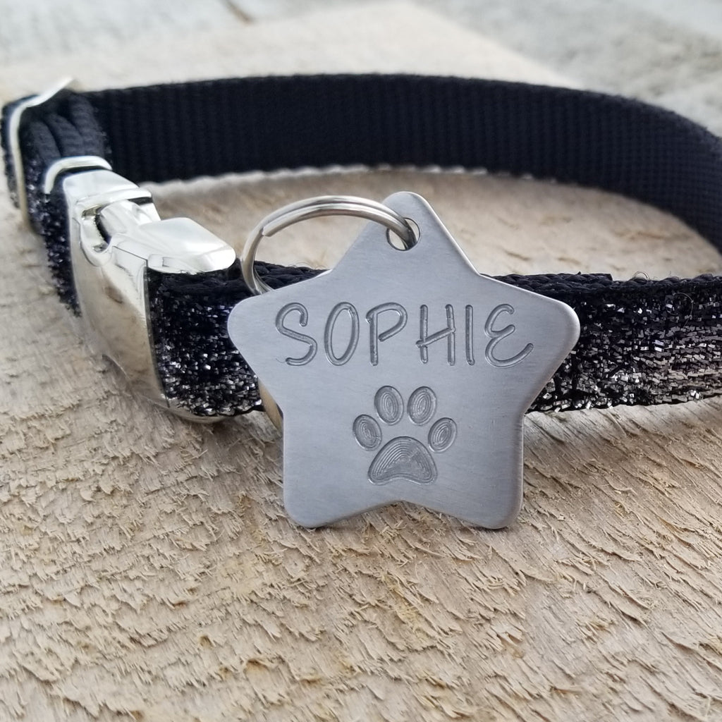Large Stainless Steel Star with PAW - Deep Engraved