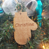 Wood Mitten Ornamentt/*1 for $11/2 for $17/3 for $22-