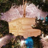 Wood Truck & Camper Ornament/*1 for $11/2 for $17/3 for $22-