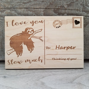 I love you Slow much/*1 for $15ea/2 for $12.50ea/3+ for $10ea-