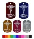 Aluminum Medical Alert Military