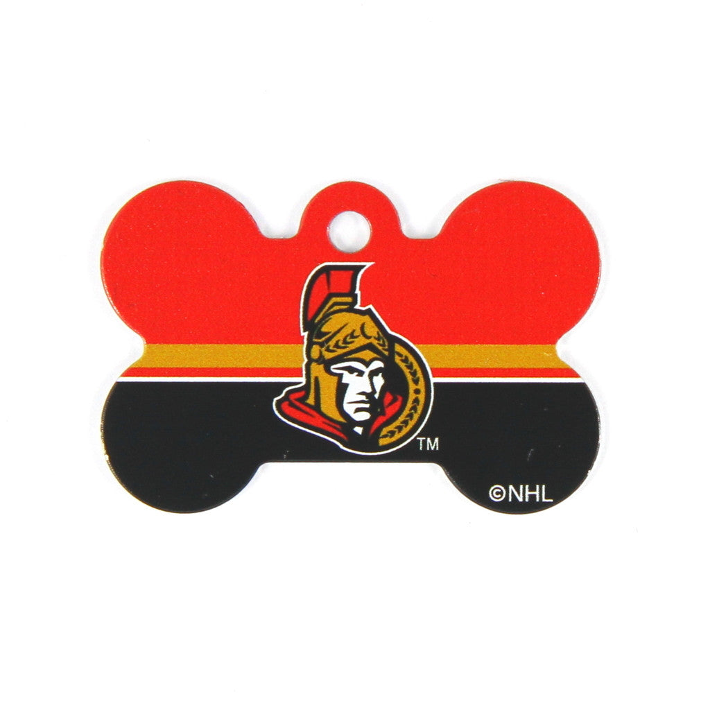NHL - Ottawa Senators Bone Tag