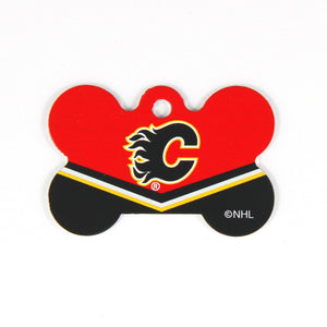 NHL - Calgary Flames Bone Tag