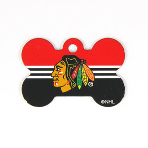 NHL - Chicago Blackhawks Bone Tag