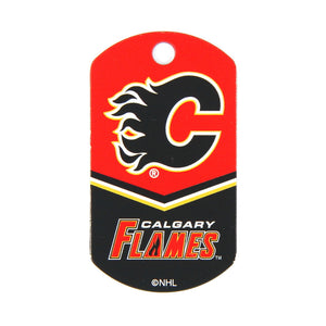 NHL - Calgary Flames Military Tag